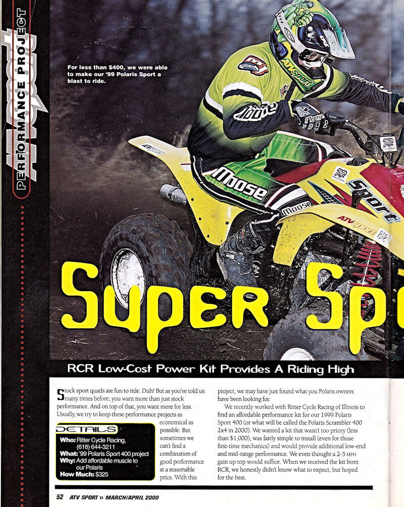 RCR Review from a magazine article